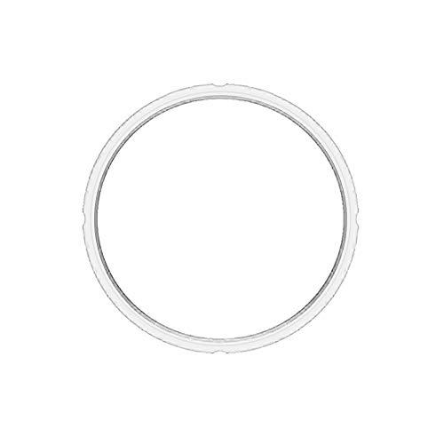 Drukafdichtring voor Instant Pot Siliconen voedsel Grade Pakking 3qt/6qt/8qt 6QT Kleur: wit