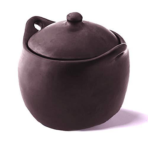 Ancient Cookware, Tall Chamba Stew Pot, 4 Quarts