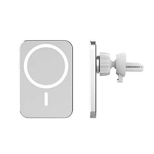 CLFYOU Soporte de cargador inalámbrico magnético compatible con iPhone 12/12 Pro/12 Mini/12 Pro Max