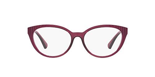 Ralph Lauren RALPH BY 0RA7109 Monturas de gafas, Pink Gr Horiz Dark Pink, 53 para Mujer