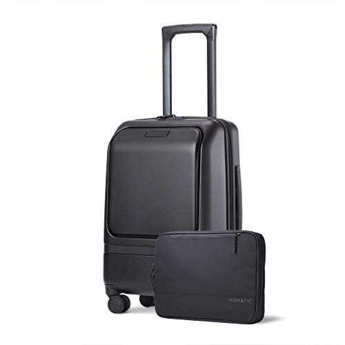 Nomatic Luggage- Carry-On Pro Luggage Perfect for 1-3 Day Trips, Hard Case Luggage for Men and Women, with Tech Case…