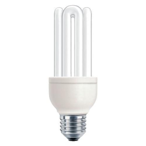 Philips Lighting Genie Lampadina a Risparmio Energetico a Tubi Scoperti Attacco E27 18W Equivalente a 83W, 83 W, Bianco, 83 W