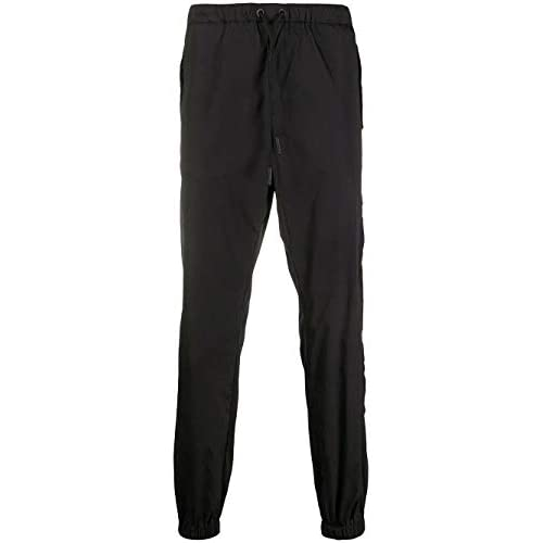 MARCELO BURLON Luxury Fashion Uomo CMCA155E20FAB0011010 Nero Poliammide Joggers | Autunno-Inverno 20
