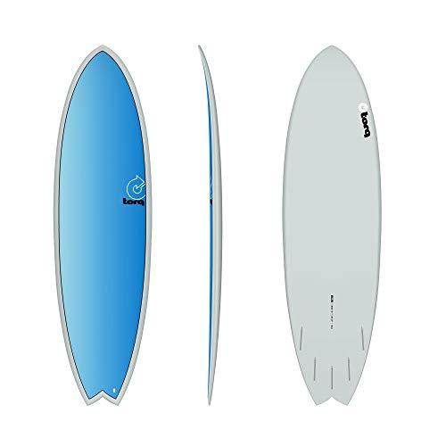 TORQ Tabla de surf Epoxy TET 6.3 Fish Full Fade