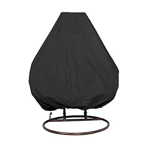 GUOXIANG Cubierta para sillón colgante, 200 x 230 cm, sillón flotante 210D Oxford, resistente al agua, para terraza o mecedora con cordón