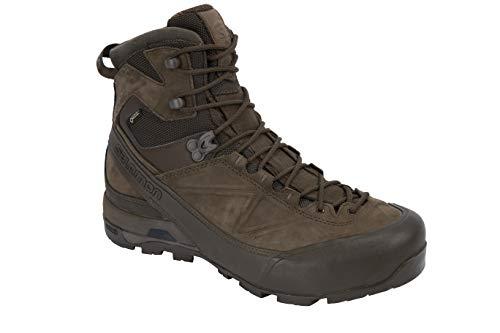 Salomon Men's X ALP GTX FORCES Boots, Slate Black/Slate Black/Slate Black, 9
