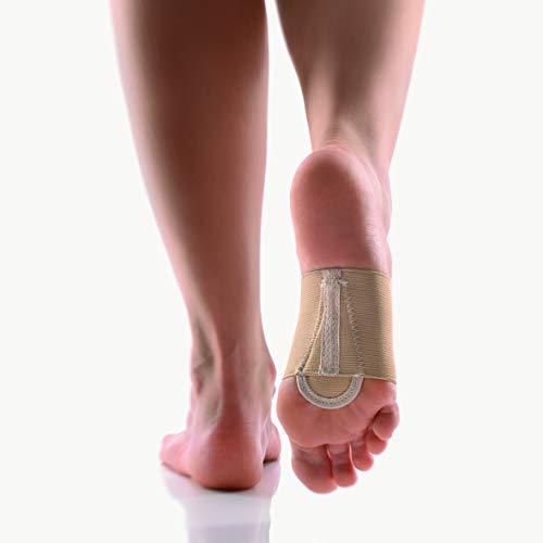 Bort Metatarsal-Bandage m. Pelotte haut Gr. 19, Fußbandagen