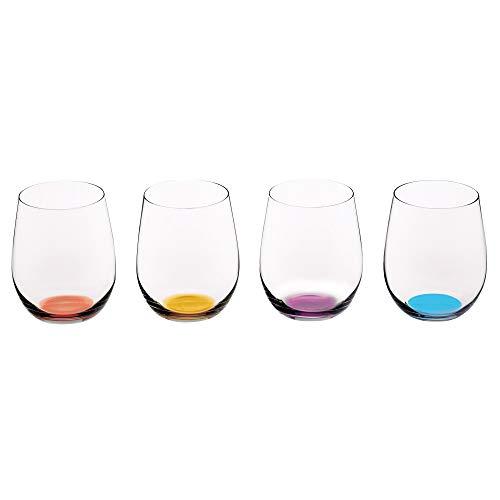 Riedel Happy O Weinglas, 325 ml, mehrfarbig