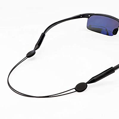 Poecent Sunglass Strap,Eyeglass Retainer for Men Women Sport Sunglasses Strap Retainer,1 Pack
