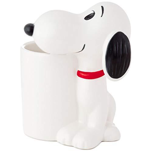 Hallmark Peanuts Snoopy Ceramic Pencil Holder New