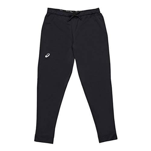 ASICS Team Tricot Warm Up - Pantaloni Sportivi da Uomo, Uomo, Pantaloni da Tuta, 2031A756, Squadra Nera, XS