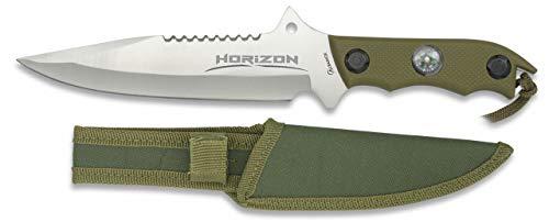 Cuchillo Horizon Satin Hoja 18 cm para Caza, Pesca, Camping, Outdoor,