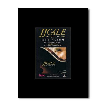 JJ CALE - Roll On Matted Mini Poster - 13.5x10cm