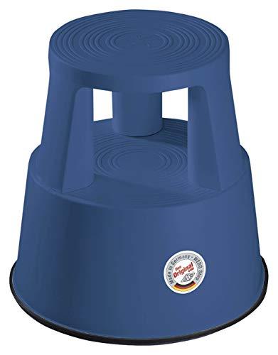Wedo Rollhocker STEP 21225009, azurblau, Limited Edition, aus Kunststoff, TÜV und GS geprüft