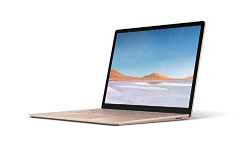 Microsoft Surface Laptop 3, 13,5 Zoll Laptop (Intel Core i5, 8GB RAM, 256GB SSD, Win 10 Home) Sandstein