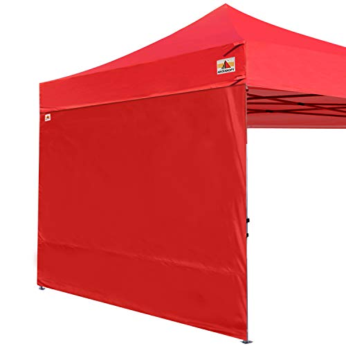 ABCCANOPY Instant Canopy SunWall (15+Colors) for 10x10 Feet, 10x20 Feet Straight Leg pop up Canopy, 1 Pack Sidewall Only