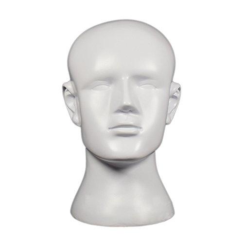 beiguoxia plástico hombres estable Pelucas De maniquí de la cabeza Modelo...