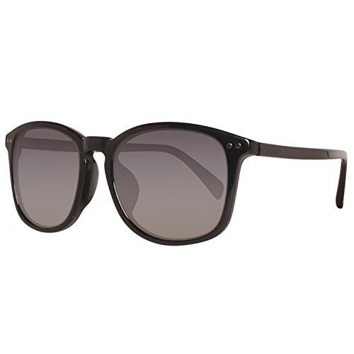 Timberland TB9066-F 5601D Sonnenbrille TB9066-F 5601D Groß Sonnenbrille 56, Schwarz