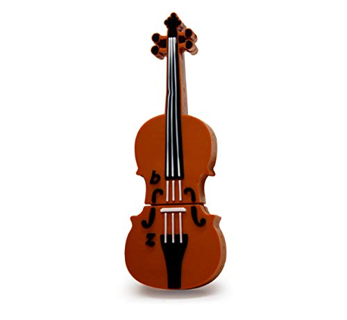 U Disco Strumento Musicale Pen Drive Violino Flash Drive 4 gb 8 gb 16 gb 32 gb 64 gb Cartoon Guitar Memory Stick Regalo 32 GB D