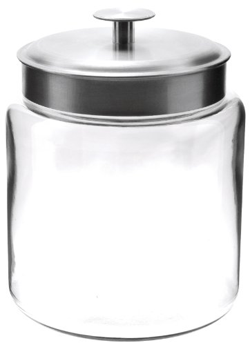 Anchor Hocking 95541 96 Oz Mini Montana Food Storage Jar