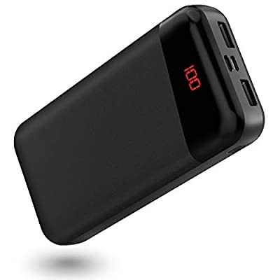 Power Bank, 26800mAh Portable Phone Charger, Ultra High Capacity External Battery Pack with 2.4A Faster Output, 3 Charging Ports, USB C Phone Charger Compatible with iPhone, Samsung, Tablets and More