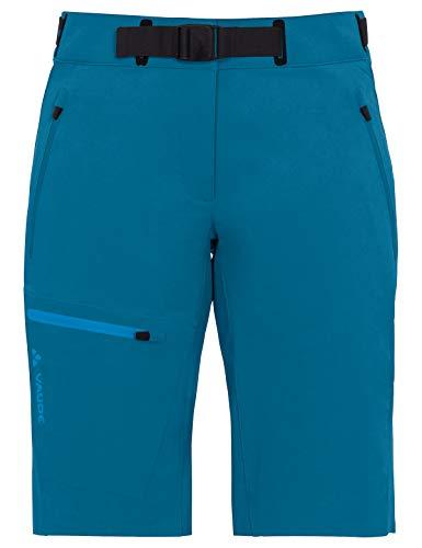 VAUDE Women's Badile Shorts Pantalon Femme Kingfisher Uni FR: Taille Unique (Taille Fabricant: 34)