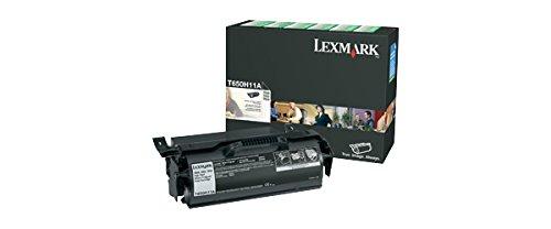 Lexmark T65X - T650H11A Hy Return Program Print Cartridge,Black