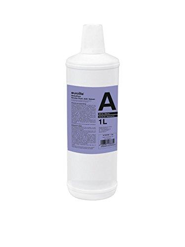 Eurolite Smoke Fluid -A2D- Action 1 Liter | Nebelfluid für Nebelmaschinen | Geringe Dichte und Standzeit | Made in Europe | Geruchsneutral auf Wasserbasis | Biologisch abbaubar