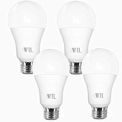 A19 LED Light Bulb, 100W Equivalent 3000k &5000K Non-Dimmable LED Bulbs