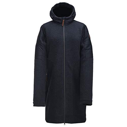 2117 of Sweden Damen Women's Wool Hybrid Coat Sandviken MantelSchwarz 34