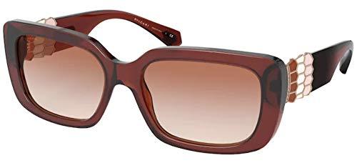 Bulgari Gafas de sol BV8223B 548013 Gafas de sol Mujer color Marrón rosa tamaño de lente 56 mm