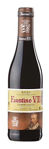 Faustino VII Vino tinto rioja joven con crianza, 375 ml