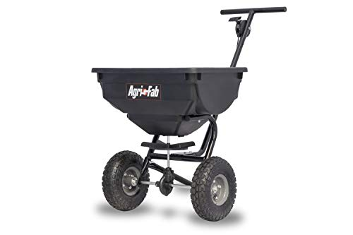Why Choose Agri-Fab 45-0531 85-lb 85 lb Deluxe Push Spreader, Black (Renewed)