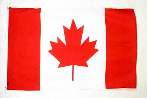 AZ FLAG Flagge Kanada 90x60cm - KANADISCHE Fahne 60 x 90 cm - flaggen Top Qualität