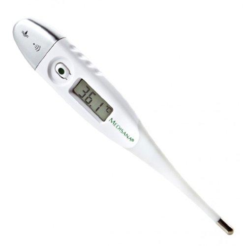Termómetro digital con punta flexible