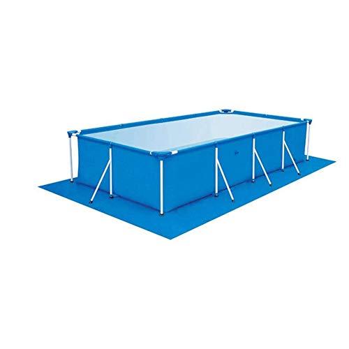 Pool Ground Opvouwbare waterdicht grondzeil Pool Floor Protector Doek Rectangle Zwembad Mat Easy To Clean Mat voor zwembaden, Inflatables, kinderbaden, 3 Maat,330 * 230CM