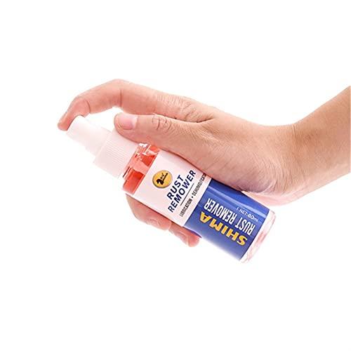 MIJPOJAN Accesorio de Herramientas de Coche de Removedor de óxido de automóviles, removedor de óxido de inhibidores, rociado de rociado, Limpieza de Mantenimiento de automóviles, 80 ml