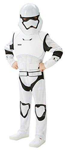 Star Wars - Disfraz de Stormtrooper, Episode 7, Deluxe, para niños (Rubie'S 620269-TW)