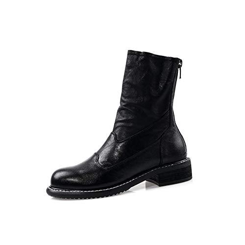 Gxet Dames-enkellaarzen, kantoorwerkschoenen, party Ankle Boots, dames Chelsea Boots met rits voor vrouwen, geschenken voor vriendinnen en moeder