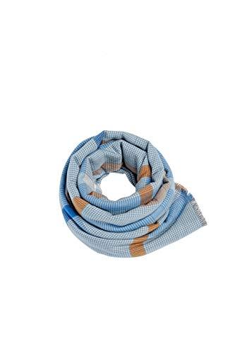 ESPRIT Accessoires Damen 089EA1Q006 Schal, Blau (Light Blue 440), One Size (Herstellergröße: 1SIZE)