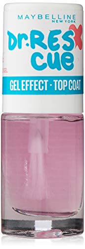 Maybelline New York Dr.Rescue Gel Effect Top Coat, Esmalte de Uñas