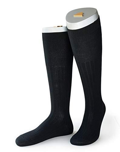 ROCKSOCK Clásico Calcetines hasta la rodilla de Lana Merino para Hombre. Costilla Clásica x 1 par (39-42)