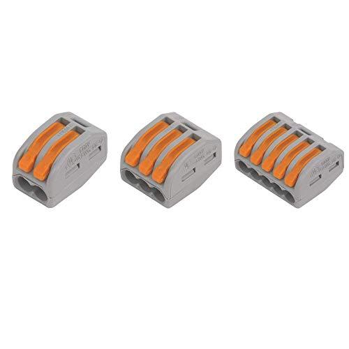WAGO Leiterdraht-Klemmleiste von Gas N Pow3r, 222-412 x 10, 222-413 x 10, 222-415 x1 0 von jedem elektrischen Stecker