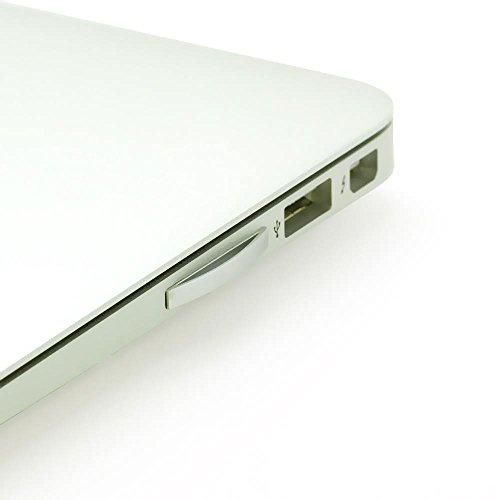 Pure² Micro-SD Mini Drive für MacBook Air 29,46 cm (13,3 Zoll) (2010-2015) in Silber für Micro SD/Micro SDHC/Micro SDXC Karten als Speichererweiterung