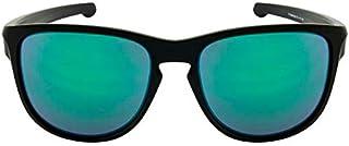 2fd538f04 Oakley SLIVER R OO9342L 934205 Preto Lente Espelhada Verde Jade Iridium Tam  57