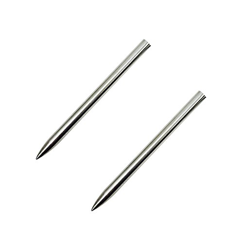 """Elemart 3"""" Stainless Steel 550 Paracord Fid for Lacing Stitching Needles (2PCS)"""