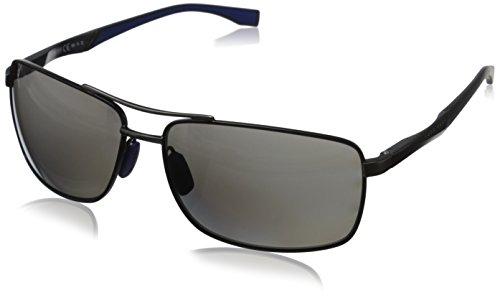Hugo Boss Herren BOSS 0697/P/S 6C AAB 63 Sonnenbrille, Schwarz (Nero)