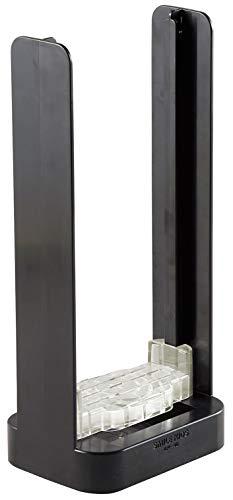 旭電機化成 アルミ缶&ペットボトルつぶし ブラック 約幅17.5×奥行13×高さ38cm APE-40
