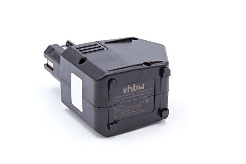 vhbw NiMH Akku 2100mAh (12V) für Elektro Werkzeug Hilti SB12, SF120-A, SFB105, SFB125 wie SBP10, 00315082, SBP12, SFB105, SFB125.