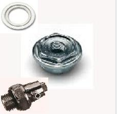 Hecapo Kit Tapones purgador y Juntas radiador Aluminio 1